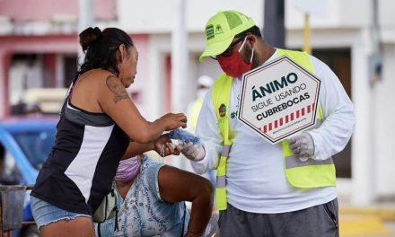 Con 21 muertos Quintana Roo este jueves; baja cifra de contagiados