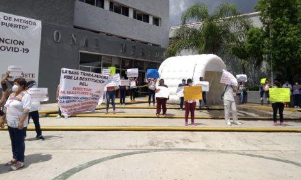 Persiste saturación de pacientes de Covid-19 en Hospital ISSSTE Mérida