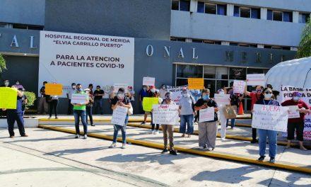 Hospital Regional del ISSSTE Mérida, saturado y con protestas sindicales