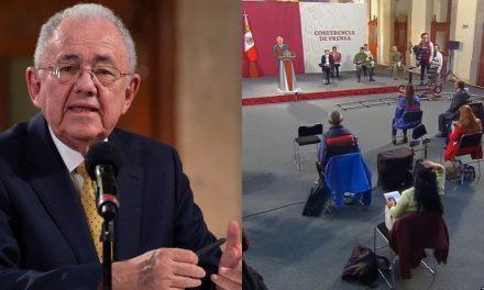 Sin 'información certera' AMLO sobre supuesta renuncia de Jiménez Espriú