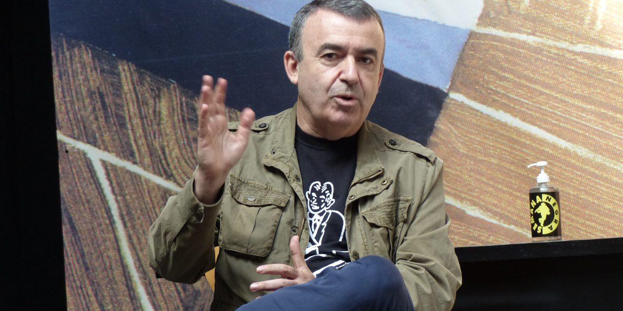 Presenta escritor español Lorenzo Silva novela sobre ETA a distancia de su disolución