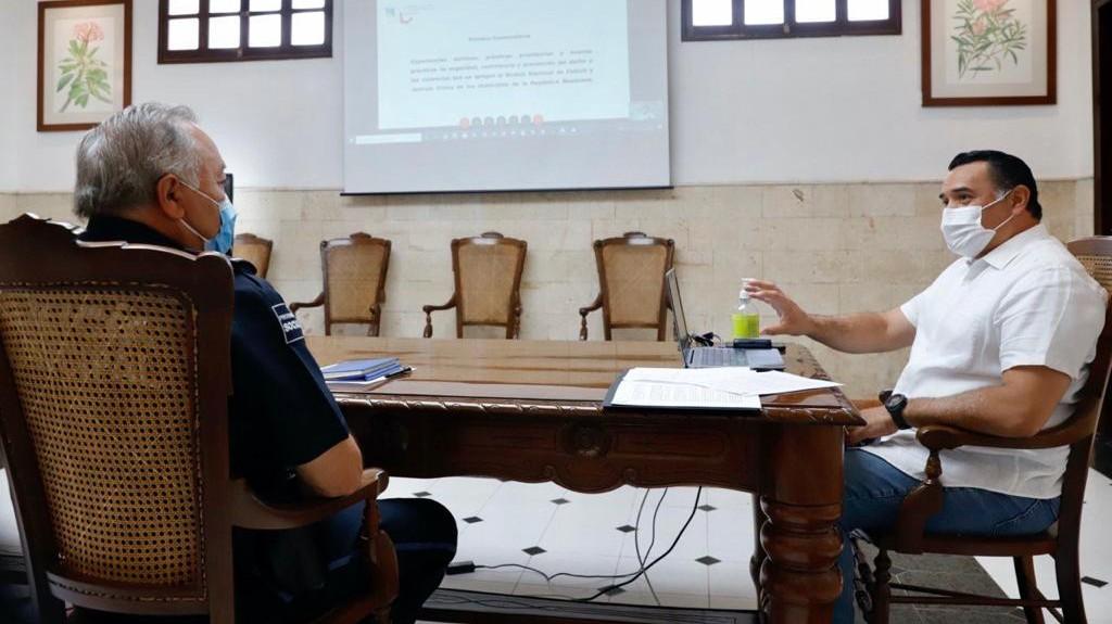 Comparte Mérida modelo de 'paz y seguridad' en tiempos de pandemia