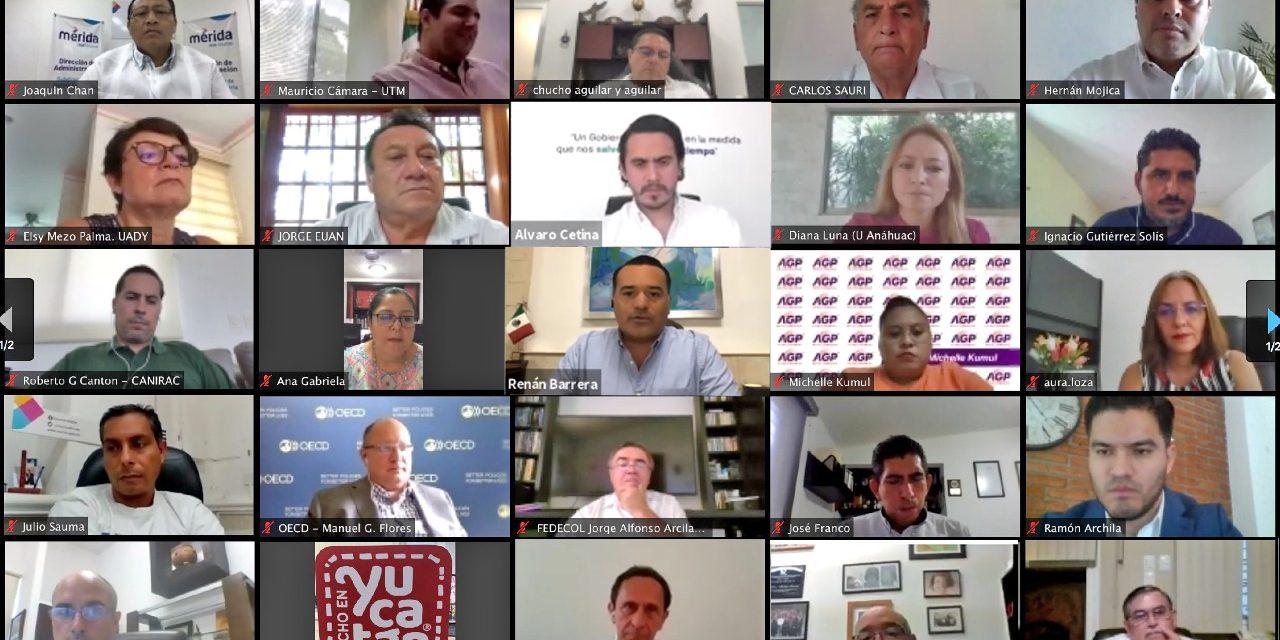Mejora regulatoria de Mérida, con distinción de CONAMER y OCDE