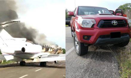 Droga por más de 109 MDP en avioneta interceptada por Sedena