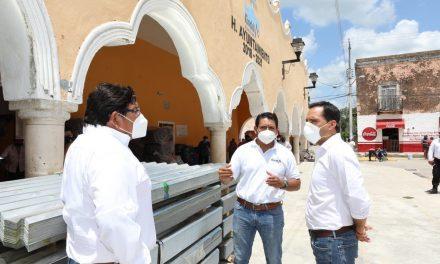 Programa Emergente de Apoyo Comunitario, en Kinchil, Tetiz y Ucú
