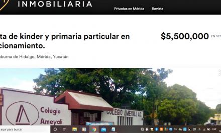 Cierra conocida escuela particular en Chuburná: hay 7 más en riesgo