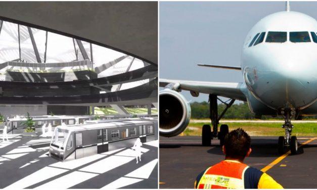 Centro Logístico en Cancún y nuevo aeropuerto para Mérida, con Tren Maya