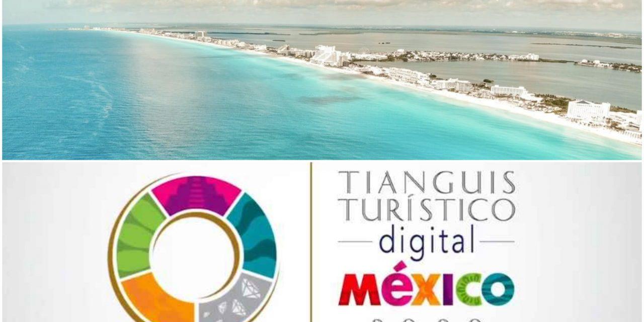 'Desinfla' Quintana Roo participación en Tianguis Turístico Digital
