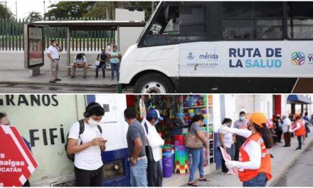 Movilidad y transporte: horarios escalonados en Mérida para evitar aglomeraciones