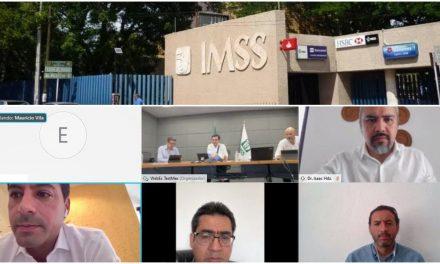 En días 116 nuevas camas del IMSS; regreso de personal en licencia