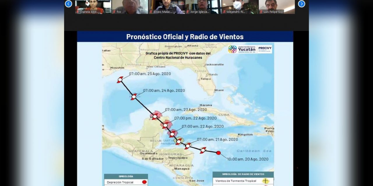 Instalan Comité de Emergencia por 'acercamiento' de depresión tropical 14
