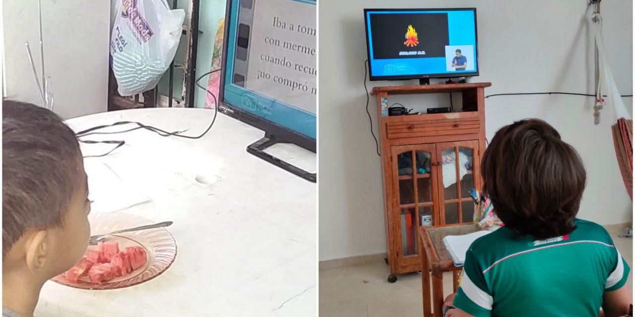 'Insustituibles las clases presenciales: La televisión, un monólogo'
