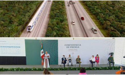 Organizaciones civiles reciben dinero para oponerse al Tren Maya.- AMLO