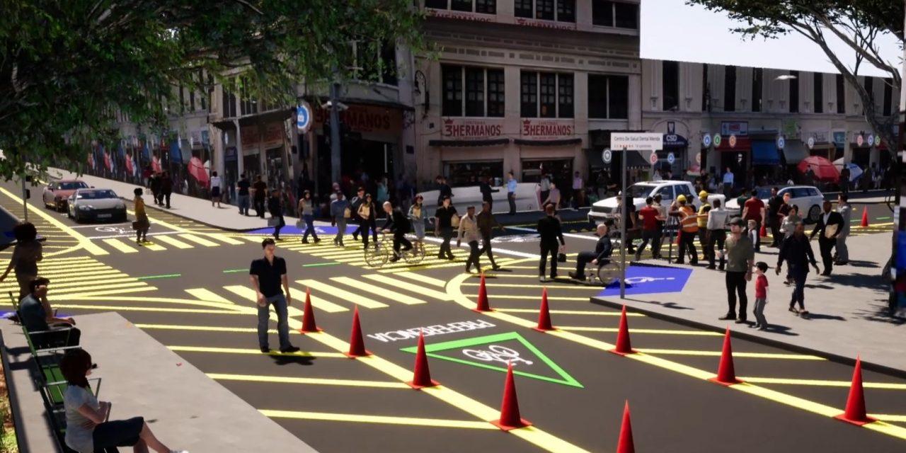 Será más peatonal centro de Mérida; fin a paraderos. 'Cambios difíciles'.- Vila (Video)