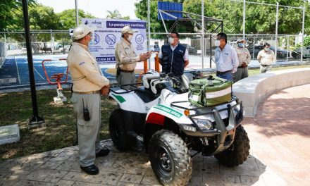 Guardaparques en Mérida, con 14 nuevos agentes en siete sitios públicos