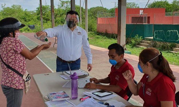 Joaquín Díaz Mena, delegado federal en Yucatán, con Covid-19