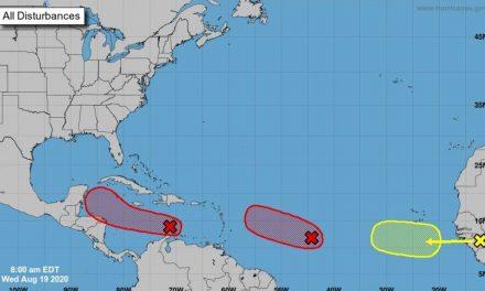 Vigilan en Caribe Mexicano baja presión que podría evolucionar a ciclón