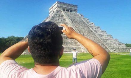 """Chichén Itzá sale de """"cuarentena"""" y recibe a sus primeros turistas"""