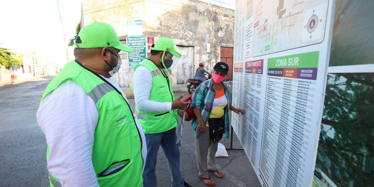 Activado Plan de Mejora a la Movilidad Urbana en Centro Histórico de Mérida