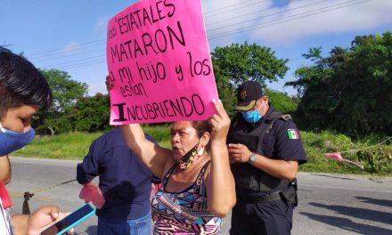 Exigen justicia para joven atropellado por patrulla de SSP-Yucatán