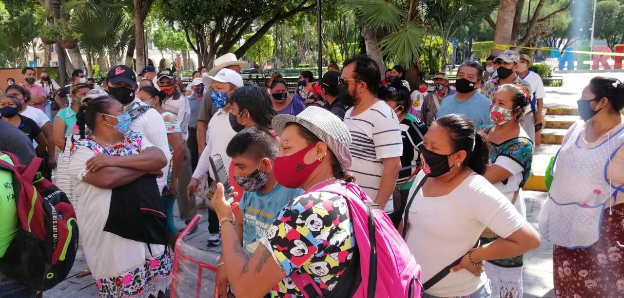 Locatarios de mercados San Benito y Lucas de Gálvez quieren mayor apertura