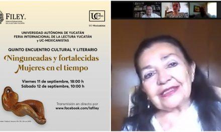 """Defiende Sara Poot Herrera """"feminismo no agresor respecto al hombre"""""""