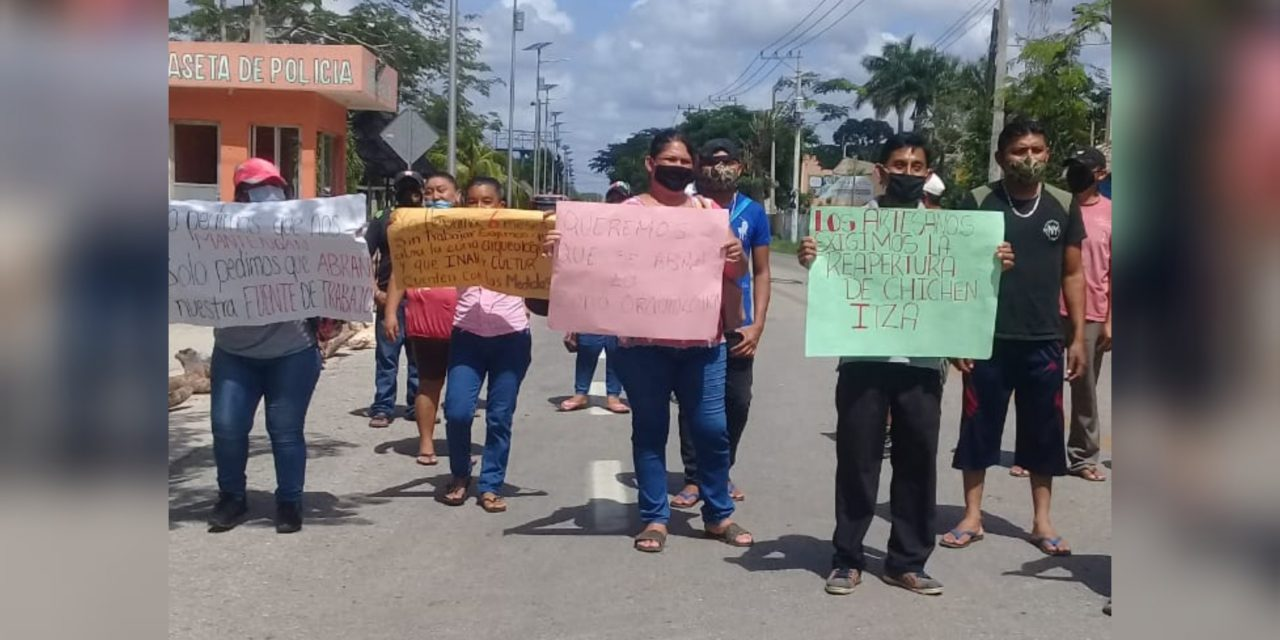 """Entraremos todos"", advierte asesor de artesanos-comerciantes de Chichén Itzá"