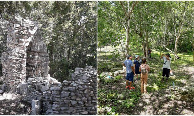 Vestigios arqueológicos de Yaxuná, refugio de turistas sin Chichén Itzá