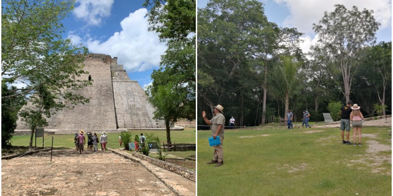 Despierta gigante maya: Uxmal recibió 723 visitantes en cinco días