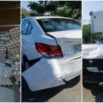 'Se le rompen los huevos' por choque en periférico de Mérida