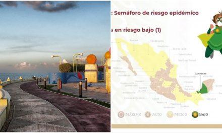Se enciende el verde en Campeche, primero en el semáforo federal