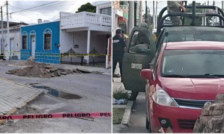 """Investigan """"huachicol"""" y encuentran cadáver en puerto Progreso"""