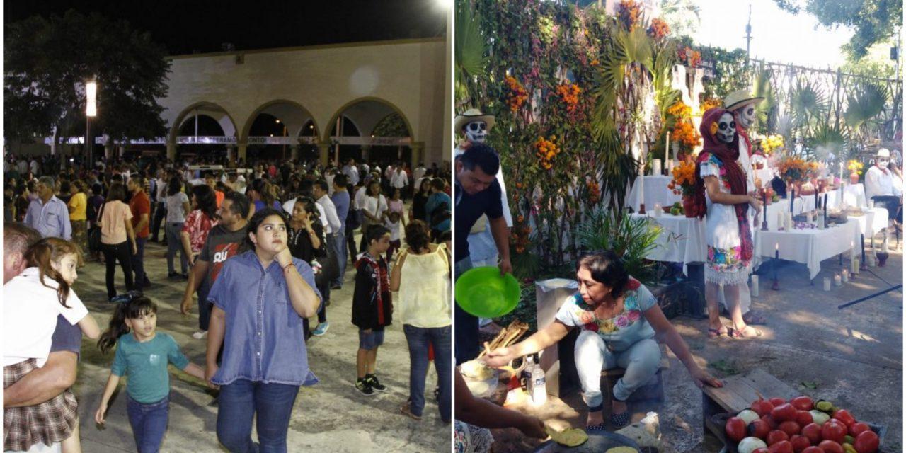 """Suspenden Muestra de Altares del """"Hanal Pixán"""" y Feria Yucatán en X'matkuil"""