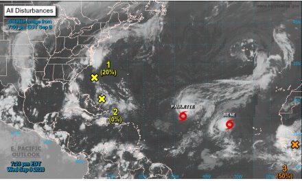 ¡Se acaban! Lista de nombres de ciclones en el Atlántico está casi en ceros