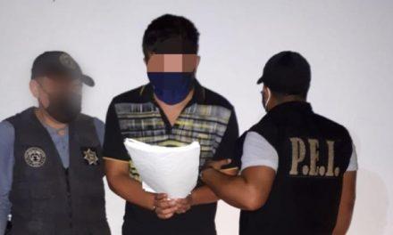 Detenido en Candelaria, Campeche, tamaulipeco acusado robo en residencia de Mérida