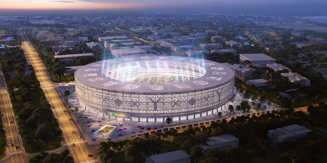 Proyecto Estadio Sostenible de Yucatán, inversión y empleo en pandemia