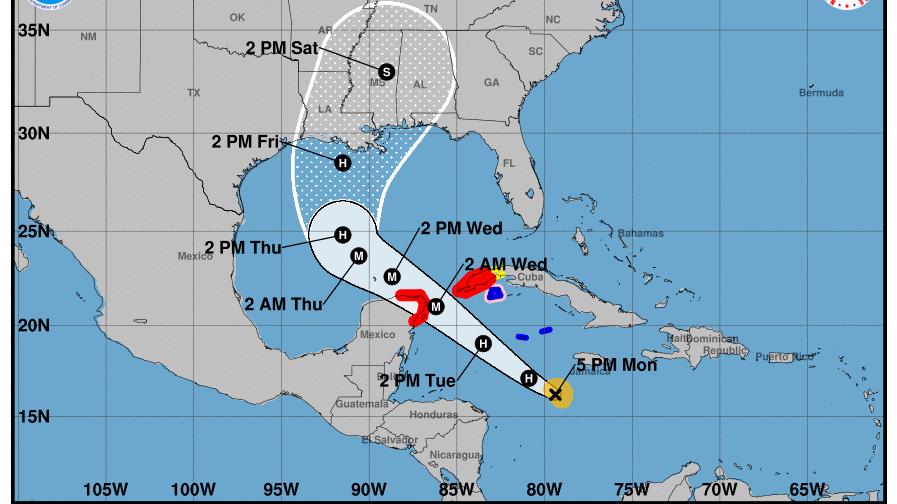 """Pierde fuerza """"Gamma"""", pero sube amenaza de potencial huracán """"Delta"""""""