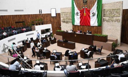 Avalan proyecto presupuestal del Poder Legislativo para 2021