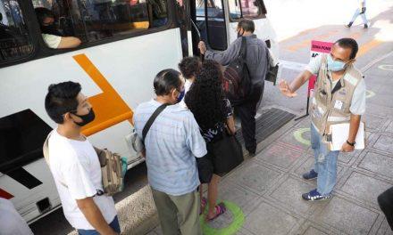 Propondrán ajuste en distancias de paraderos en Centro Histórico de Mérida