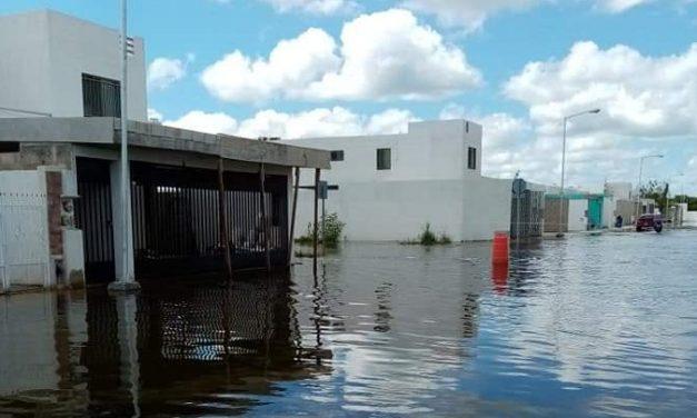 Vecinos de las américas pugnan por drenaje pluvial: hay 70% de probabilidad de inundación