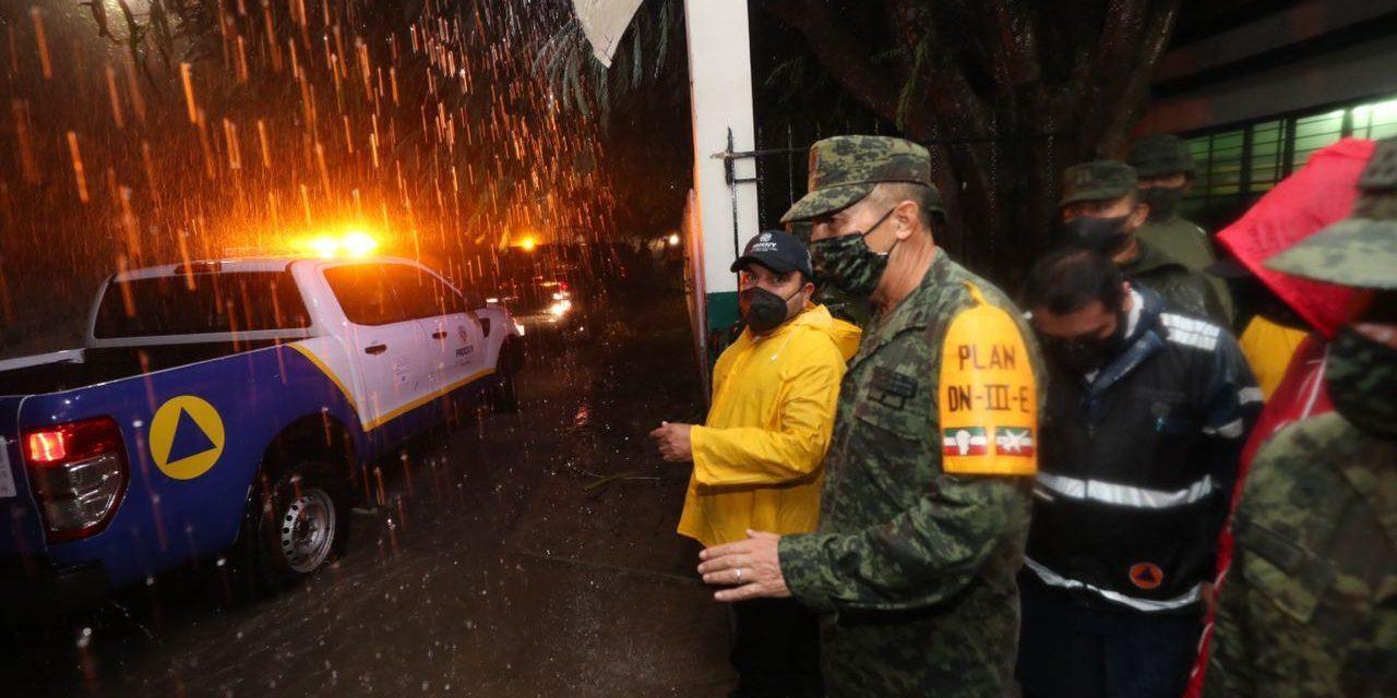 Fuertes lluvias y daños menores en Yucatán por Tormenta Tropical