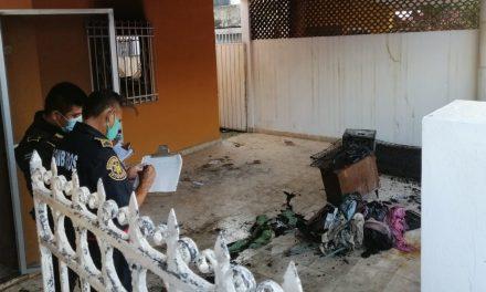 Lluvias, corto circuito e incendio: casa dañada al oriente de Mérida