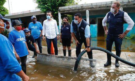 Recoge Ayuntamiento de Mérida 1 millón 600 mil litros de agua de lluvia