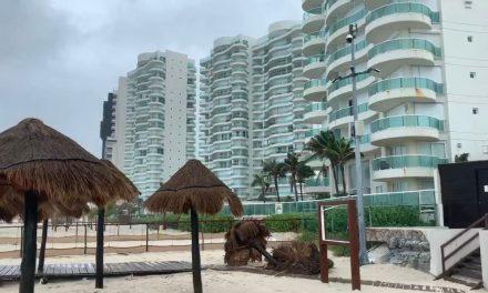 Evacúan zona hotelera de Cancún, Holbox y otros en Quintana Roo