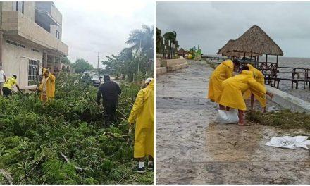 """Más días de lluvias con retorno de """"Gamma"""" a la península de Yucatán"""