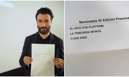 """Preselecciona España a """"La trinchera infinita"""", """"El hoyo"""" y """"O que arde"""" para el Óscar"""