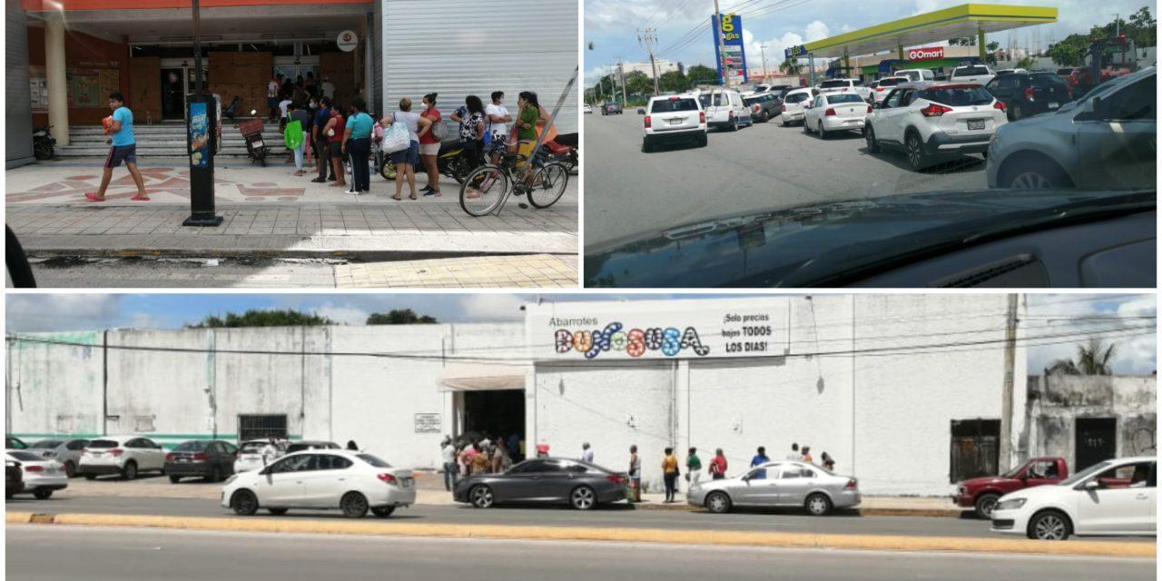"""""""Compras de pánico"""" en Cancún, Playa del Carmen y otras ciudades"""