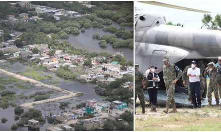 """Oriente de Yucatán en lento retorno a normalidad tras huracán """"Delta"""""""