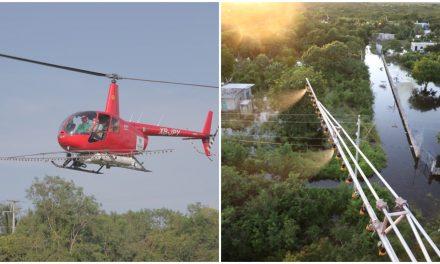 Por tierra y por aire: combate frontal al mosco vector en Mérida