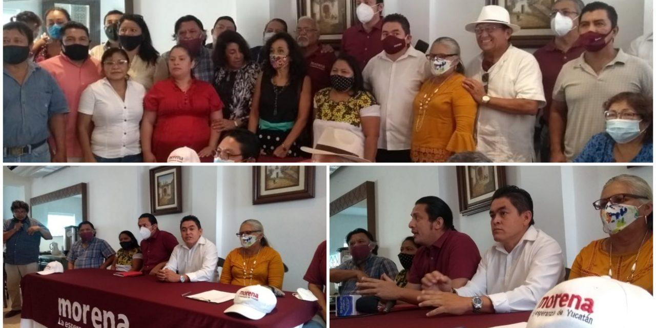 Dirigencia de Morena-Yucatán busca deslindarse de conflicto nacional